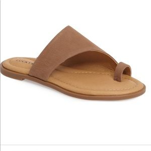 Lucky brand anora sandal- leather